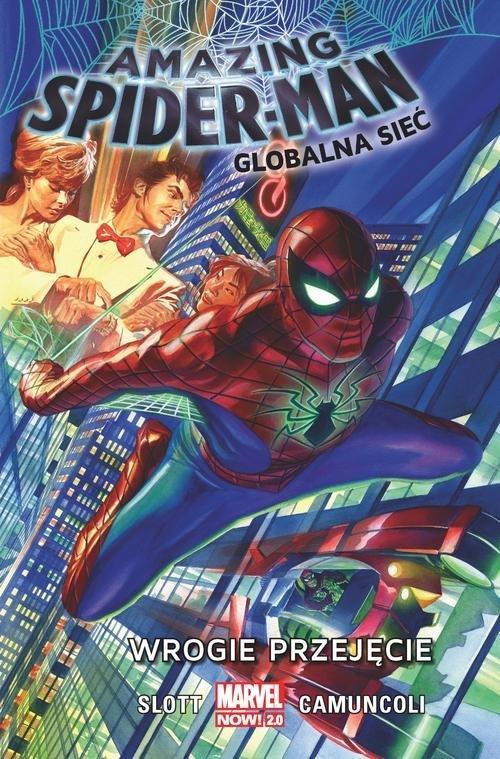 Amazing Spider-Man Globalna sieć. - okładka książki