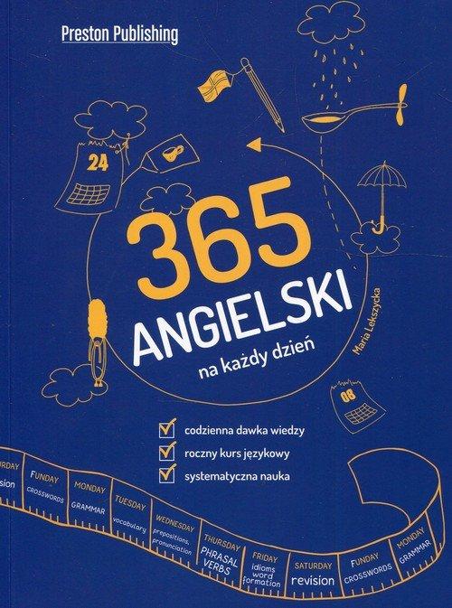 Angielski 365 na każdy dzień - okładka podręcznika