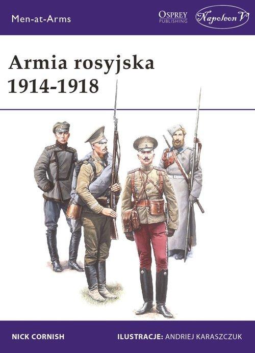 Armia rosyjska 1914-1918 - okładka książki