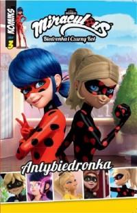 Biedronka. Komiks cz. 3. Antybiedronka - okładka książki