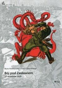 Bój pod Zasławiem. 23 września 1920 - okładka książki