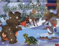 Boże Narodzenie w lesie. Rozkładanki - okładka książki