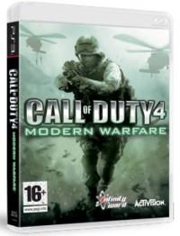 Call Of Duty 4 Modern Warfare PS3 - pudełko programu