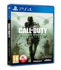 Call of Duty Modern Warfare Remastered PS4 - pudełko programu