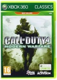 Call of Duty Modern Warfare XBox 360 - pudełko programu