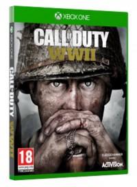 Call of Duty WWII Xbox One - pudełko programu