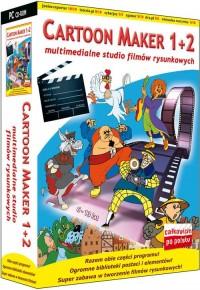 Cartoon Maker 1+2 - pudełko programu