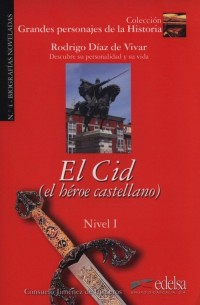 Cid El heroe castellano Nivel 1 - okładka podręcznika