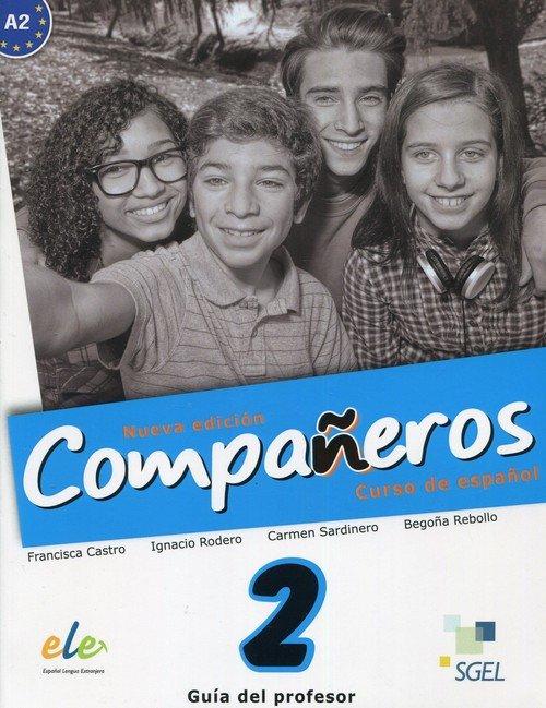 Companeros 2 przewodnik metodyczny - okładka podręcznika