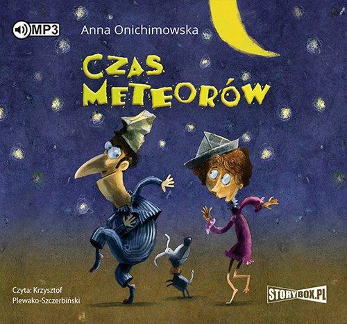 Czas meteorów - pudełko audiobooku