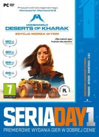 Day1 Homeworld Desert of Kharak - pudełko programu