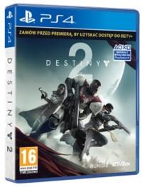 Destiny 2 PS4 - pudełko programu