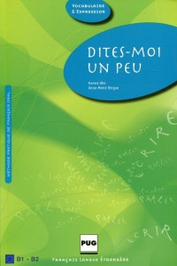Dites-moi un peu B1-B2 Książka ucznia - okładka podręcznika