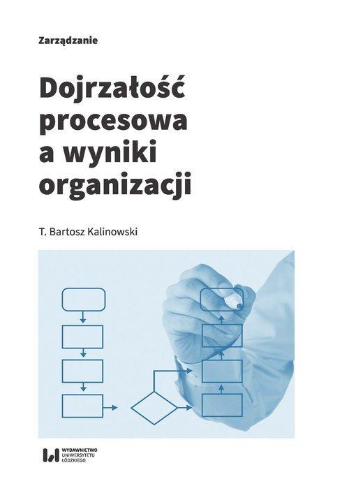 Dojrzałość procesowa a wyniki organizacji - okładka książki