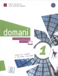Domani 1 (+ DVD) - okładka podręcznika