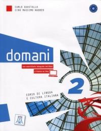 Domani 2 Podręcznik (+ DVD. A2) - okładka podręcznika