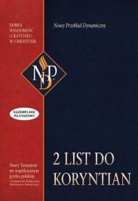 Drugi List do Koryntin. Nowy Przekład Dynamiczny - okładka książki