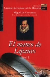 El manco de Lepanto Nivel 1 - okładka podręcznika