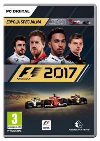 F1 2017 PC - pudełko programu