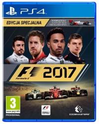 F1 2017 PS4 - pudełko programu