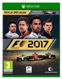 F1 2017 Xbox1 - pudełko programu