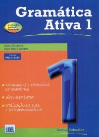 Gramatica Ativa 1. Podręcznik - okładka podręcznika
