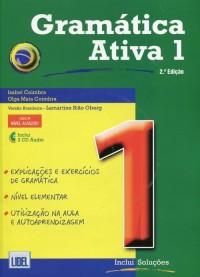 Gramatica Ativa 1. Wersja brazylijska + 3CD - okładka podręcznika
