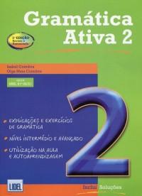 Gramatica Ativa 2. Podręcznik - okładka podręcznika