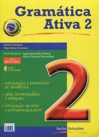 Gramatica Ativa 2. Wersja brazylijska - okładka podręcznika