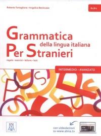 Grammatica italiana per stranieri intermedio-avanzato B1/B2 - okładka podręcznika