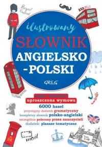 Ilustrowany słownik angielsko-polski, polsko-angielski - okładka książki