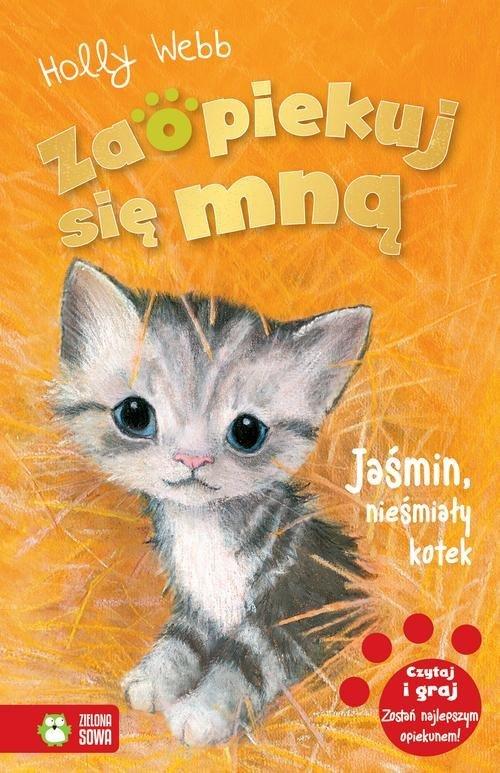 Jaśmin, nieśmiały kotek - okładka książki