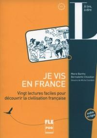 Je vis en France - okładka podręcznika