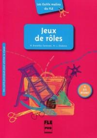 Jeux de roles - okładka podręcznika