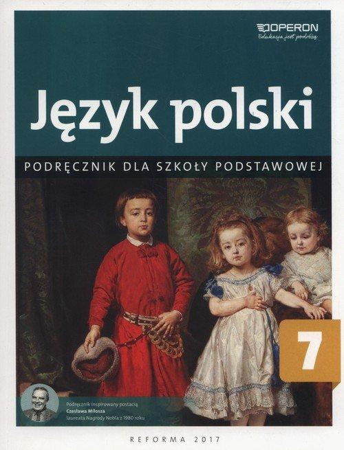 Język polski 7. Szkoła podstawowa. - okładka podręcznika