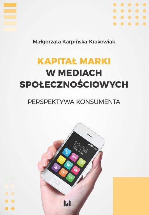 Kapitał marki w mediach społecznościowych. - okładka książki
