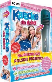 Karaoke dla dzieci Najpiękniejsze polskie piosenki z mikrofonem - pudełko programu