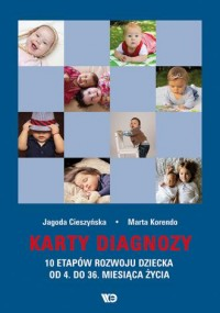 Karty diagnozy. 10 etapów rozwoju dziecka od 4. do 36. miesiąca życia - zdjęcie zabawki, gry