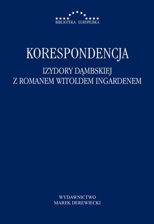 Korespondencja Izydory Dąmbskiej - okładka książki