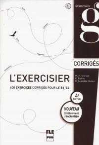 LExercisier Corrigés B1-B2 - okładka podręcznika