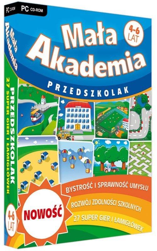Mała Akademia - Przedszkolak - pudełko programu