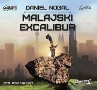 Malajski Excalibur - pudełko audiobooku