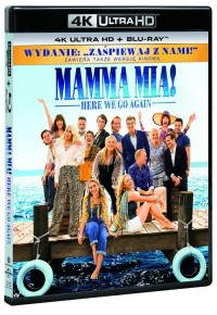 Mamma Mia: Here We Go Again 4K - okładka filmu