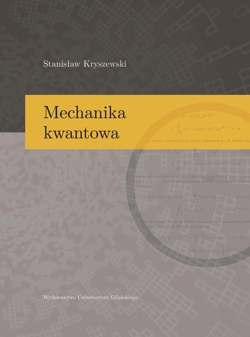 Mechanika kwantowa - okładka książki