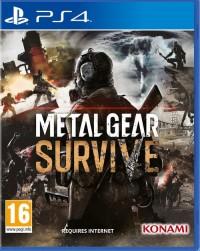 Metal Gear Survive PS4 - pudełko programu
