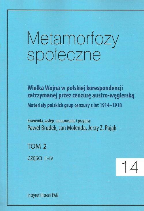 Metamorfozy społeczne 14. Wielka - okładka książki