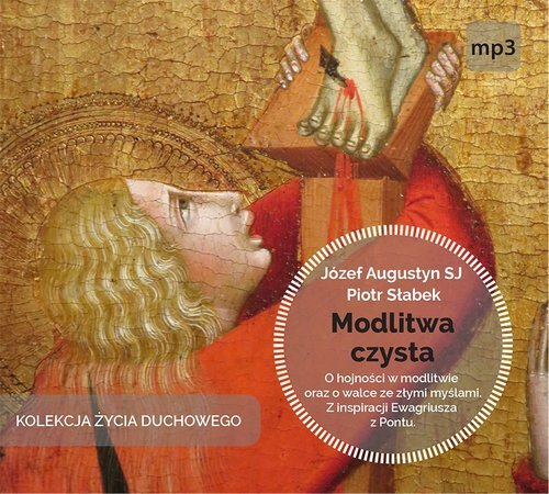 Modlitwa czysta CD mp3 - pudełko audiobooku