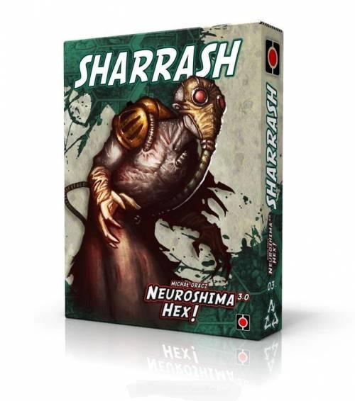 Neuroshima Hex 3.0: Sharrash PORTAL - zdjęcie zabawki, gry