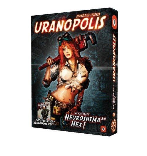 Neuroshima HEX! Uranopolis - Rozszerzenie - zdjęcie zabawki, gry