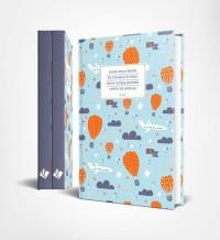 Notatnik Lux - balony - okładka książki